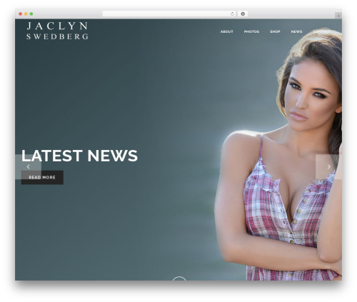 ATOM WordPress theme - officialjaclynswedberg.com