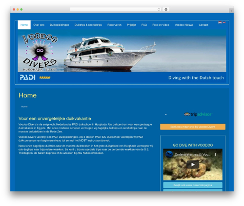 LineDay theme WordPress free - voodoodivers.com