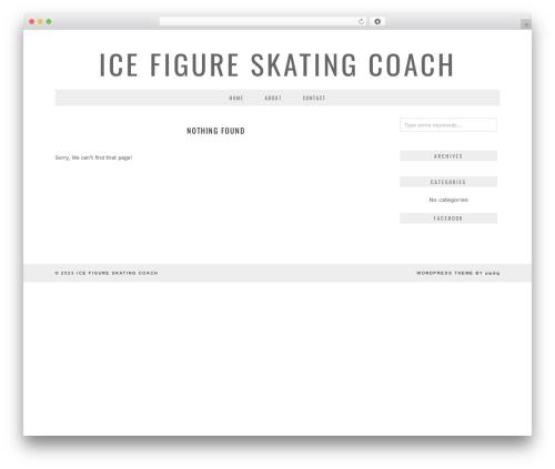 London Calling (pipdig) WordPress theme - icefigureskatingcoach.com