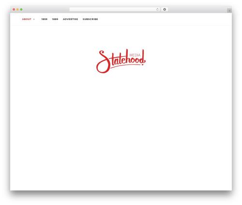 Activello WordPress theme design - statehoodmedia.com