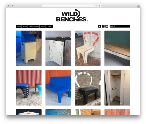 Grid Theme Responsive WordPress theme - wildbenches.com