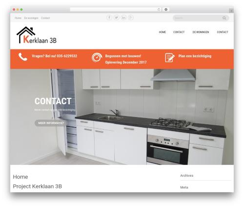 Sanitorium WordPress theme free download - kerklaan3.com