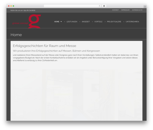 WordPress theme Phlox - greiwe-concept.com
