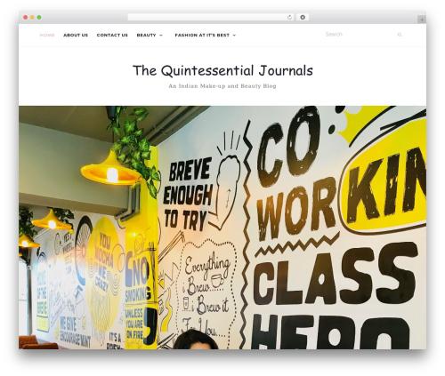 Best WordPress theme Activello - thequintessentialjournals.com
