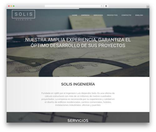 Bridge WordPress theme design - ofisolis.com