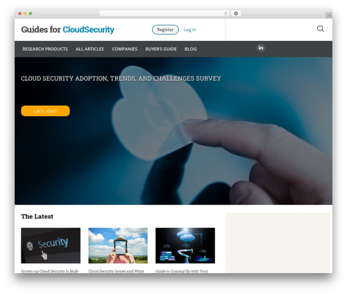 Guides for CRM Wordpress Theme best WordPress theme - guidesforcloudsecurity.com