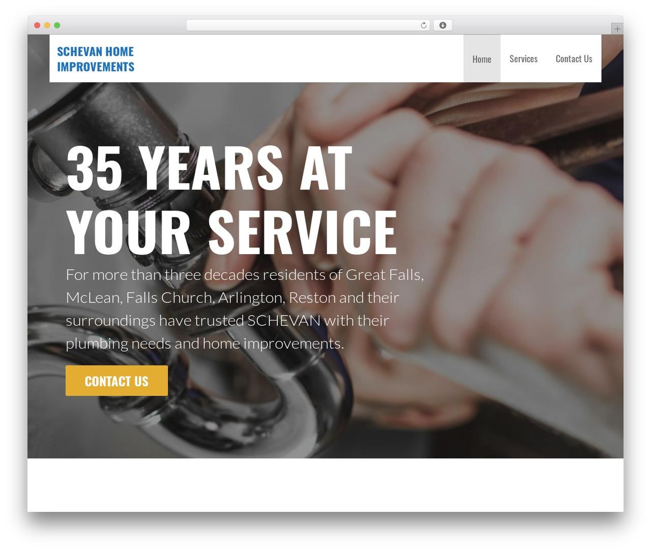 Primer Wordpress Template Free Download By Godaddy Schevanplumbing Com
