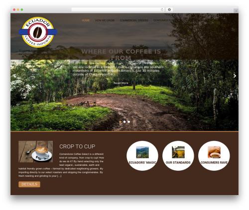 SKT Coffee free website theme - cornerstonecoffeeselect.com