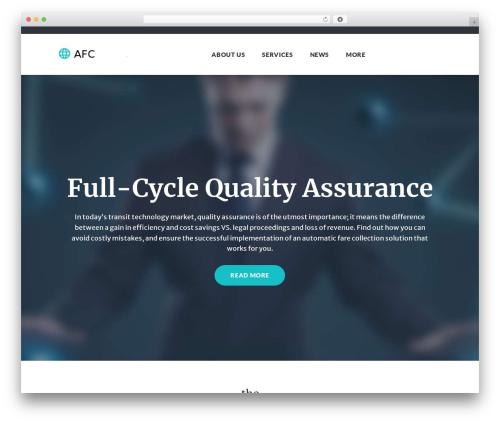 WordPress theme Globaly - automaticfarecollection.com