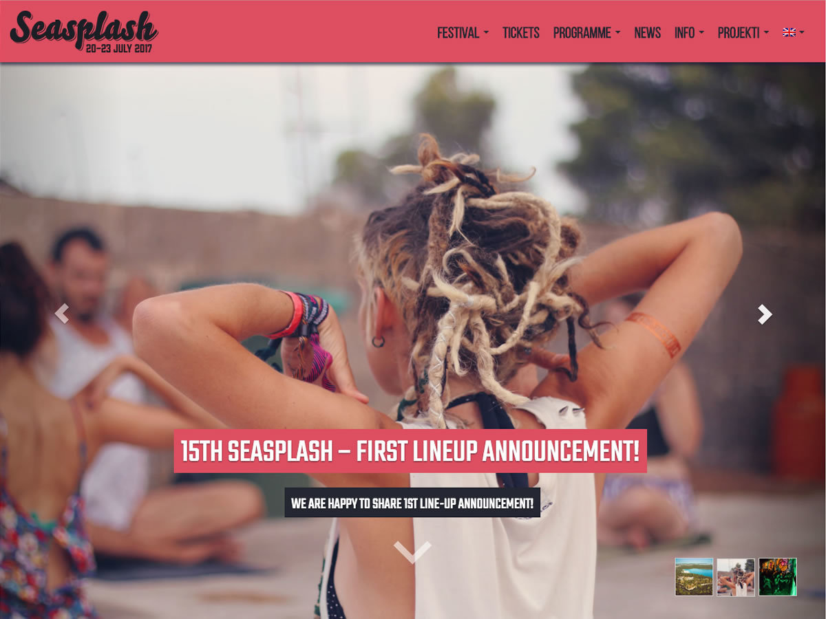 WordPress theme Seasplash