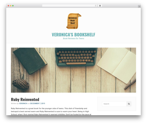 Avani WordPress theme download - veronicabookshelf.com