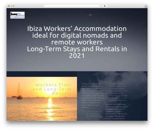 Betheme WP theme - ibiza-workers-accommodation.com