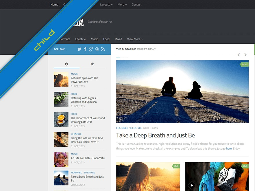 Bitfal top WordPress theme