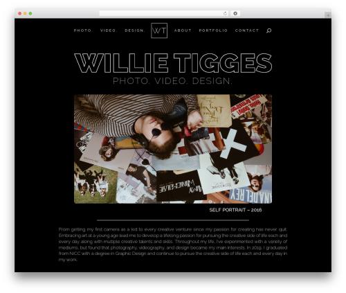 Theme WordPress Divi - willietigges.com