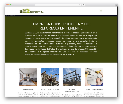 WordPress theme Betheme - constructoratenerife.com