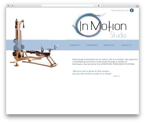 WordPress theme NOO Yogi - inmotiongr.com
