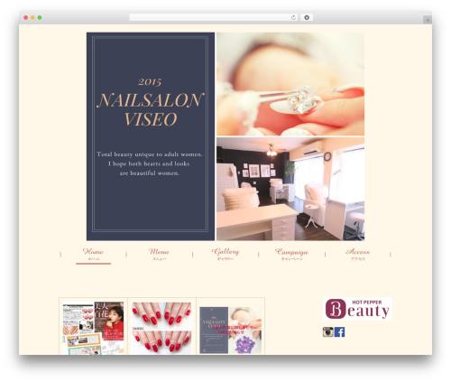 WordPress theme viseo - nail-viseo.com