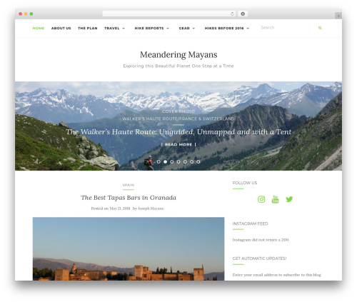 Activello WordPress theme free download - meanderingmayans.com