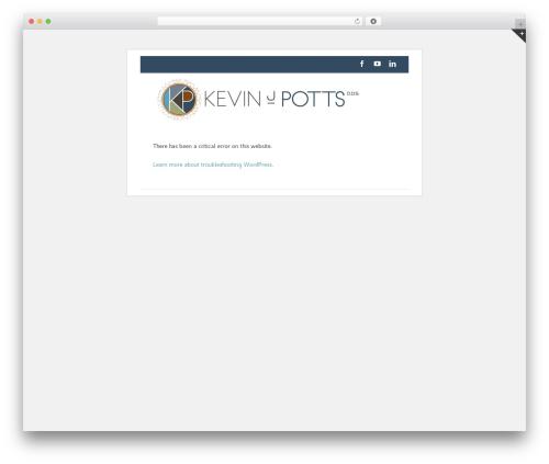 Avada WordPress page template - kevinpottsdentist.com