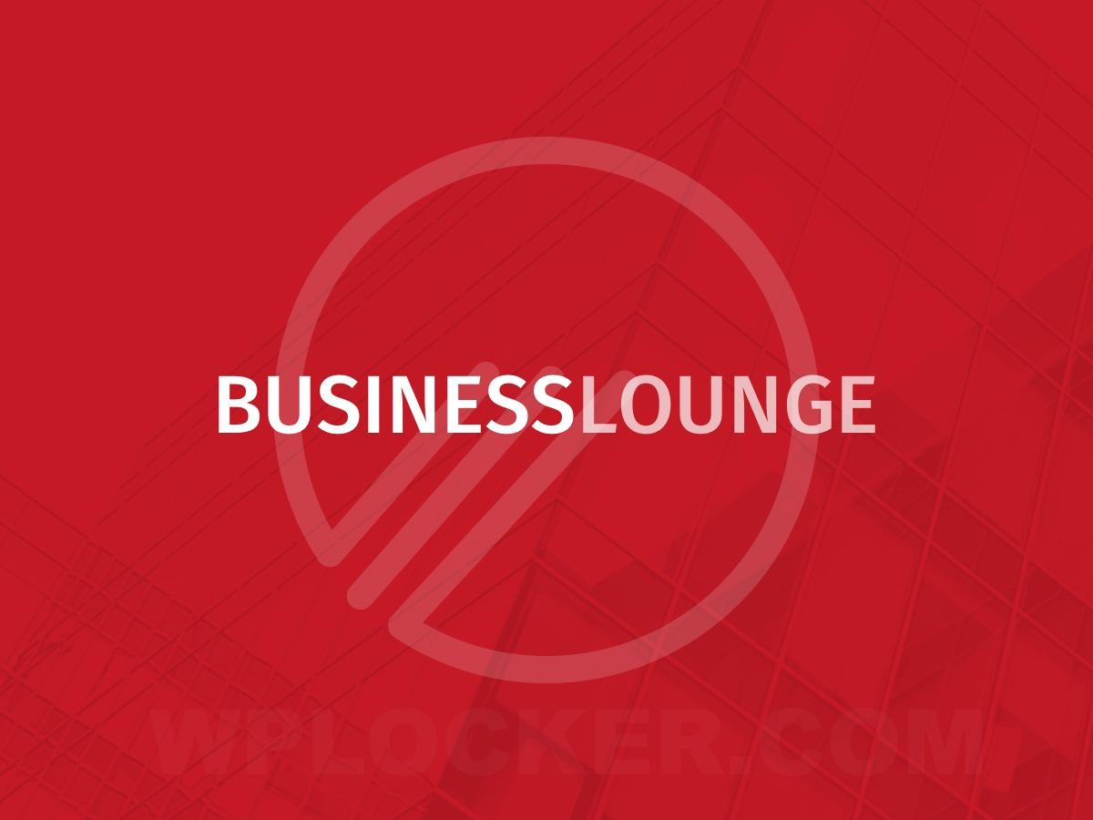 BusinessLounge - shared on wplocker.com WordPress template for business