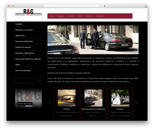 Metro CreativeX free WordPress theme - royanoygonzalez.com