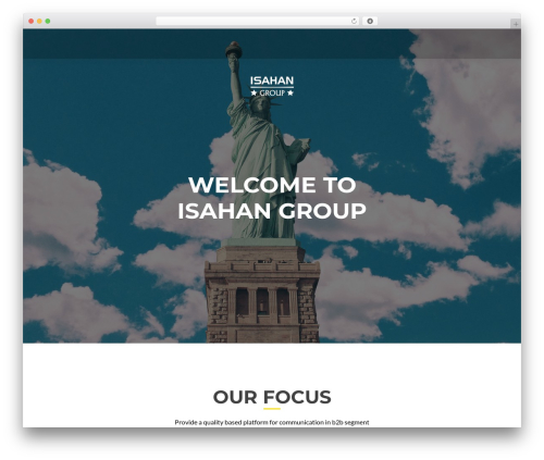 ResponsiveBoat theme WordPress - isahangroup.com