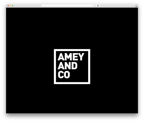 Whitelabel WordPress theme - ameyandco.com