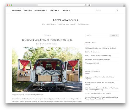 Activello theme WordPress free - larabanker.com