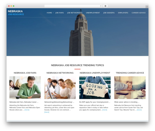 Best WordPress template Avion - nebraskajobresource.com