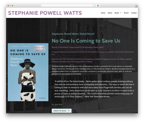 GeneratePress theme WordPress free - stephaniepowellwatts.com