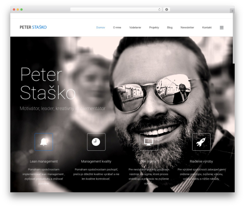 Satellite7 WordPress theme - peterstasko.com