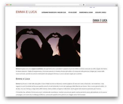 Tesla WordPress template free - emmaeluca.com