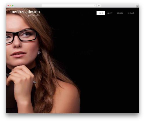 The Ocean best WordPress theme - mantrabydesign.com