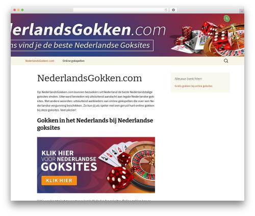 Twenty Thirteen free WordPress theme - nederlandsgokken.com