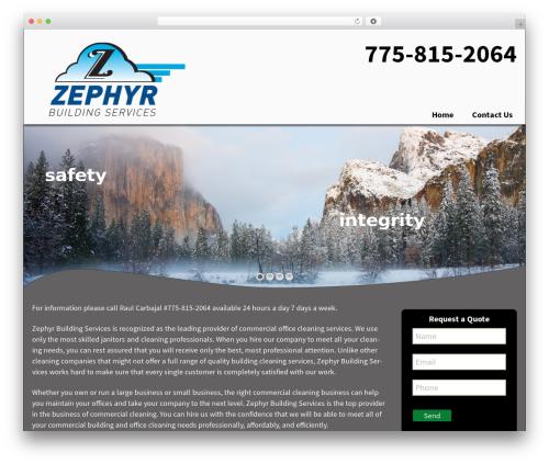 Twenty Thirteen WordPress template free download - zbsreno.com