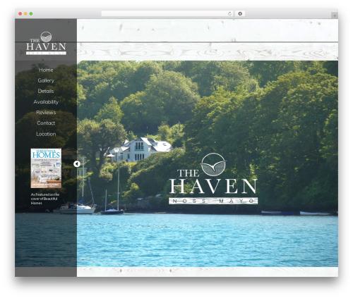 BLANK Theme WordPress theme - thehavendevon.com