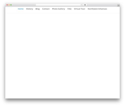 Divi WordPress wedding theme - theravington.com