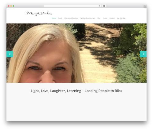 Salient best WordPress template - margitborbas.com