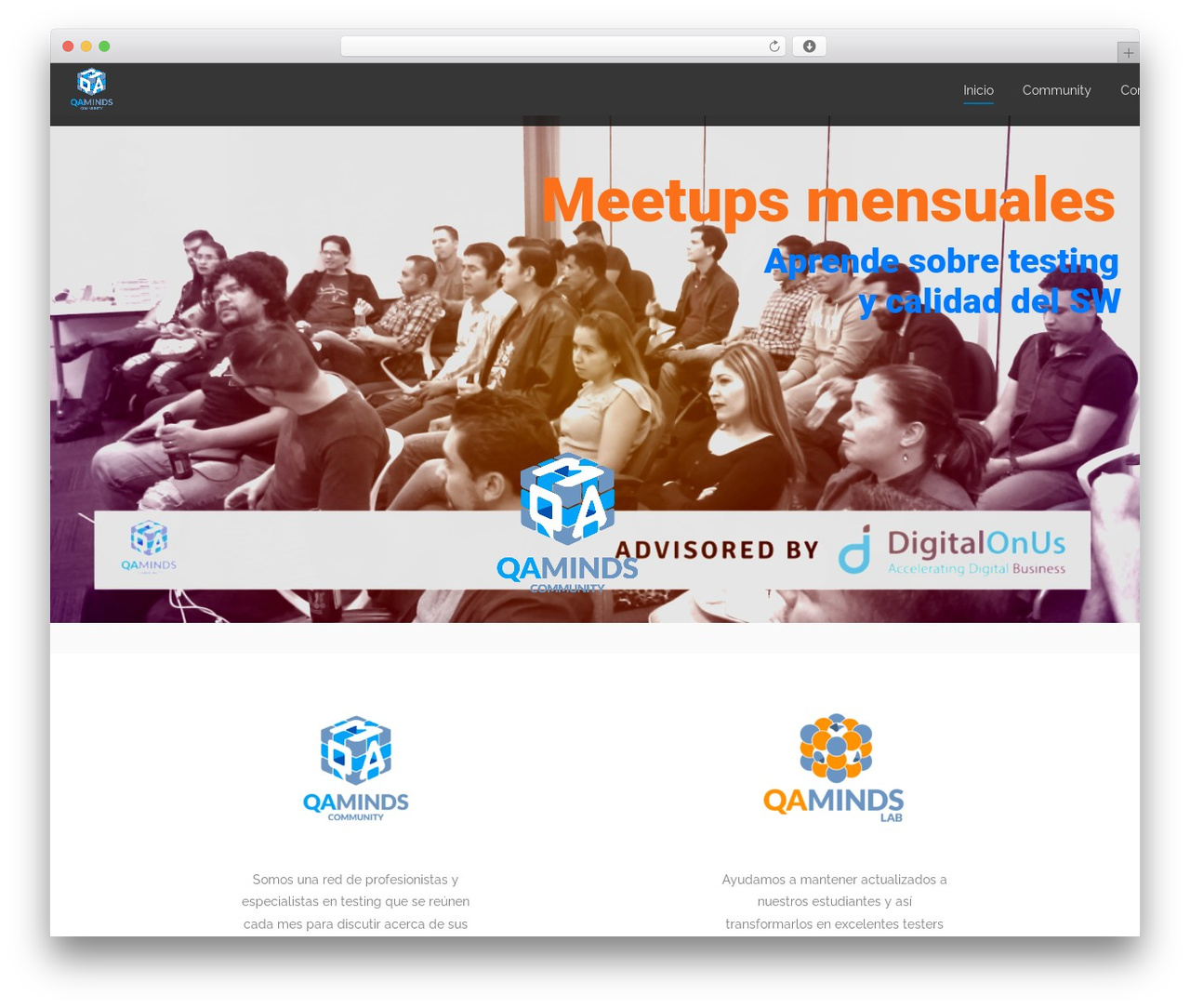 Sanigo WordPress theme - qaminds.com