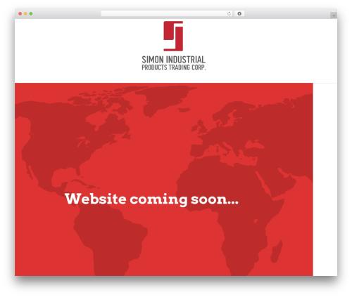 Template WordPress Salient - simonindustrialproducts.com