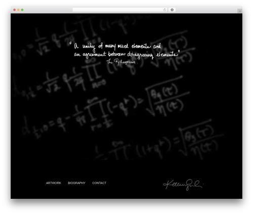 Twenty Eleven WordPress theme download - kelleensullivanart.com
