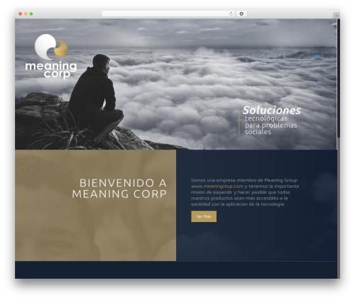 Betheme theme WordPress - meaningcorp.com