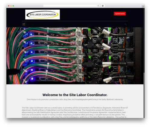 Betheme WP template - sitelaborcoordinator.com