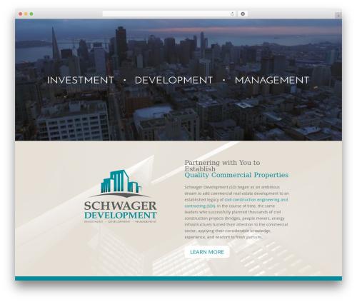 Divi best real estate website - schwagerdevelopment.com