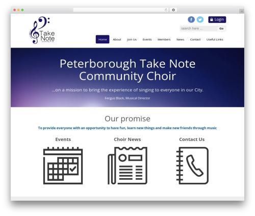 Responsive template WordPress free - peterboroughtakenote.com