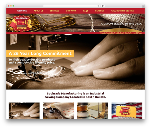 The Advance-A-Rator 334 WordPress theme - souhradamanufacturing.com