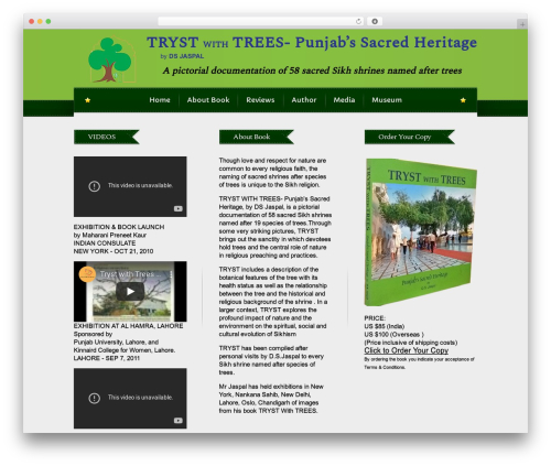 Theme WordPress Bordeaux Premium Theme - trystwithtrees.com