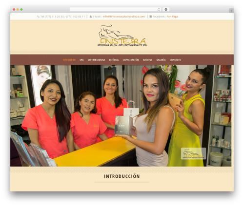 Theme WordPress Dream Spa - finisterrasaludybelleza.com