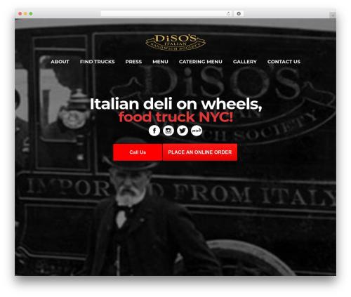 WordPress theme Bridge - disosnyc.com