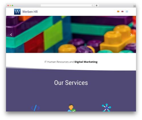 WordPress theme Divi - werbenhr.com